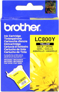 Brother lc-800y cartuccia giallo