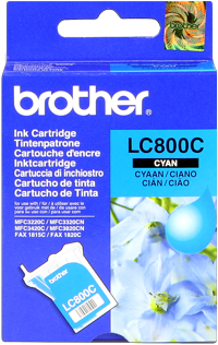 Brother lc-800c cartuccia cyano
