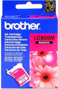 Brother lc-800m cartuccia magenta