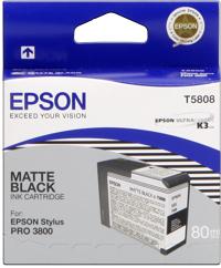 Epson T580800  Cartuccia matte black capacit� 80ml