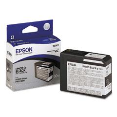 Epson t580100  cartuccia photoblack capacit� 80ml