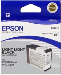 Epson T580900  Cartuccia light light black capacit� 80ml