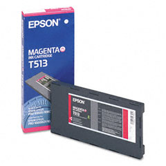 Epson T513011  Cartuccia magenta 500ml
