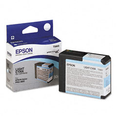 Epson t580500  cartuccia lightcyano capacit� 80ml