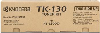kyocera tk-130 Toner originale nero, durata indicata 7.200 pagine