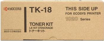 kyocera tk-18 Toner originale 7.200p