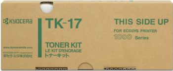 kyocera tk-17 toner originale 6.000p