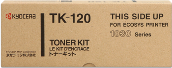 kyocera tk-120 toner originale nero, durata indicata 6.000 pagine