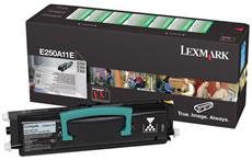 Lexmark e250a11e toner originale nero, durata 3.500 pagine.