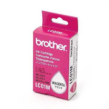 Brother lc-01m cartuccia magenta