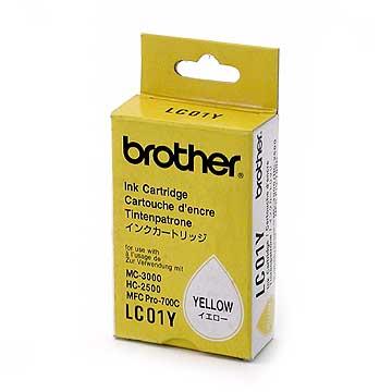 Brother lc-01y cartuccia giallo