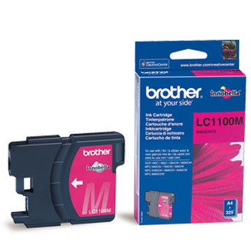 Brother lc-1100m cartuccia magenta