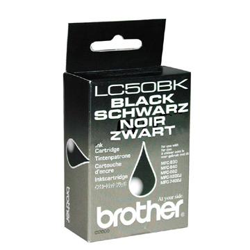 Brother lc-50bk cartuccia nero