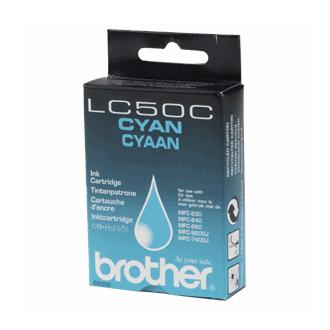 Brother lc-50c cartuccia cyano