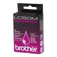 Brother lc-50m cartuccia magenta