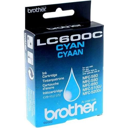 Brother lc-600c cartuccia cyano