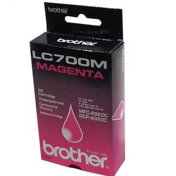 Brother lc-700m cartuccia magenta