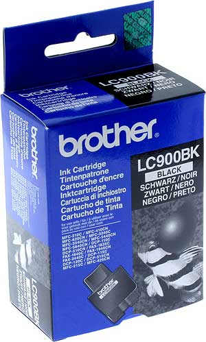 Brother lc-900bk cartuccia nero