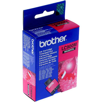 Brother lc-900m cartuccia magenta