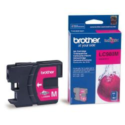 Brother lc-980m cartuccia magenta