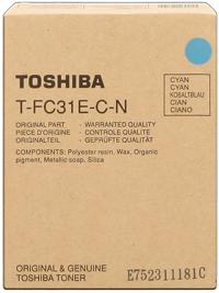 Toshiba ps-ztfc31ecn toner cyano