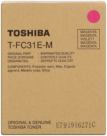Toshiba ps-ztfc31em toner magenta 10.700p