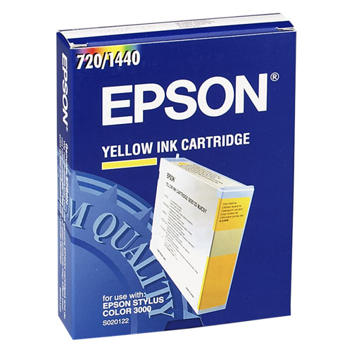 Epson s020122 cartuccia giallo 110ml