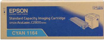 Epson s051164 toner cyano, durata 2.000 pagine