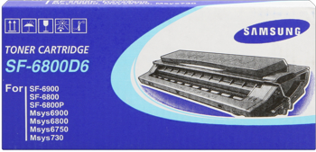Samsung sf-6800d6 toner originale