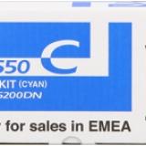 toner e cartucce - tk-550c toner cyano 6.000p
