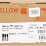 toner e cartucce - dt38y toner giallo, durata 10.000 pagine