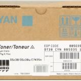 toner e cartucce - dt38c toner cyano, durata 10.000 pagine