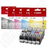 toner e cartucce - cli-521bk cartuccia nero, capacità inchiostro 9ml