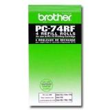 toner e cartucce - pc-74rf carta termica 4 pz
