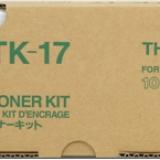 toner e cartucce - tk-17 toner originale 6.000p