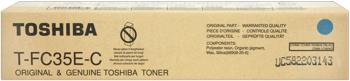 Toshiba t-fc35c toner cyano, durata 24.000 pagine