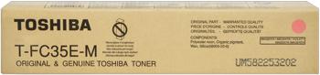 Toshiba t-fc35m toner magenta, durata 24.000 pagine