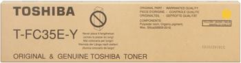 Toshiba t-fc35y toner giallo, durata 24.000 pagine