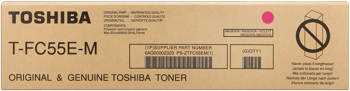 Toshiba t-fc55m toner magenta, durata 27.000 pagine