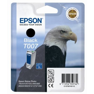 Epson t00740110 cartuccia nero, capacit� indicata 16 ml