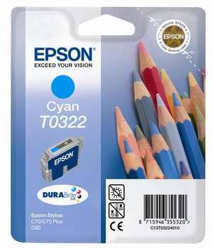 Epson t03224010 cartuccia cyano