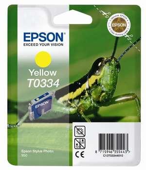 Epson t03344010 cartuccia giallo 17ml