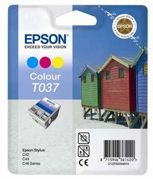 Epson t03704010 cartuccia colore cyano, magenta, giallo.