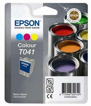 Epson t04104010 cartuccia colore 300p