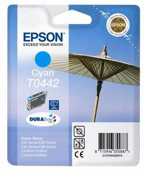 Epson t04424010 cartuccia cyano 450p