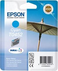 Epson t04524010 cartuccia cyano 280p