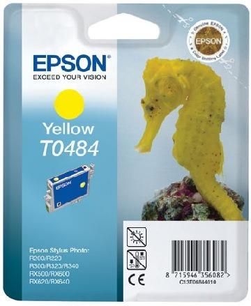 Epson t04844010 cartuccia giallo 13ml