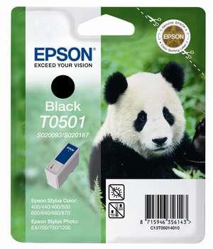 Epson t05014010 cartuccia nero, durata 540 pagine