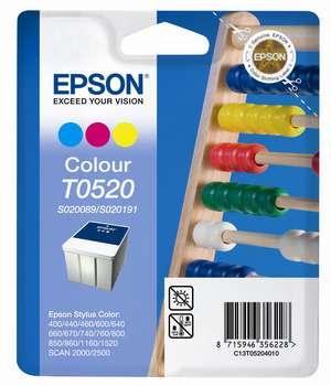 Epson t05204010 cartuccia colore, durata indicata 320 pagine