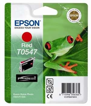 Epson t05474010 cartuccia red, capacit� 13ml